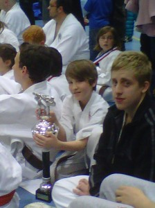 Picture of Logan Carter-Hayes, Kumite Winner