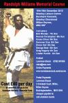 Randolph Williams Memorial Course, 15th / 16th December 2012